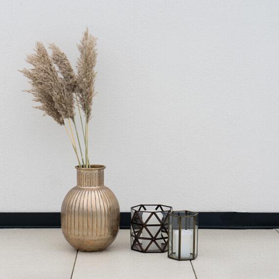 Vase Gold Kombinationsbild